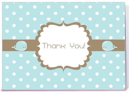 Thank You Baby Shower Card greeting card by Sweet Tooth Studio ...