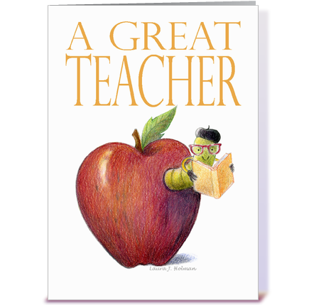 Apple Worm Teacher Teacher Thank You Worm in