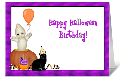 halloween birthday greeting card by starstock greetings card gnome - Halloween Birthday