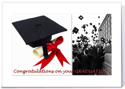 Congratulations on your GRADUATION greeting card by Sabine A ...