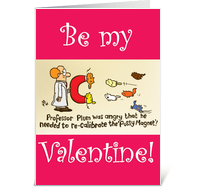 Continue To Pussy Magnet Valentines Day Card