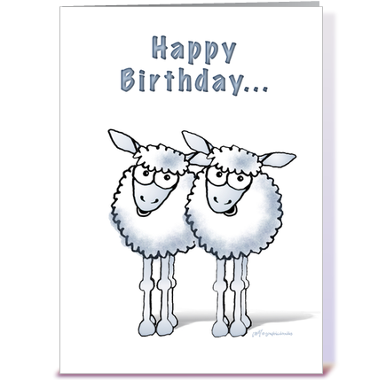Happy Birthday Sheep