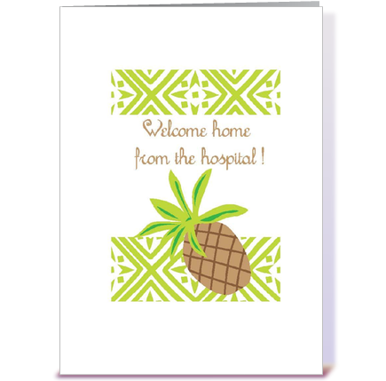 Welcome greeting cards wblqual welcome home from the hospital greeting card by butinski designs greeting card m4hsunfo